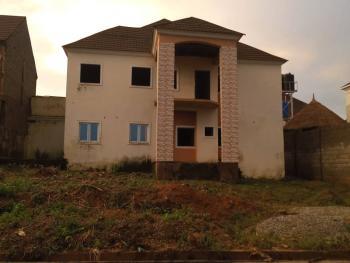 New Carcass 4 Bedroom Semi Detached Duplex on 900sqm Plot, Asokoro District, Abuja, Detached Duplex for Sale