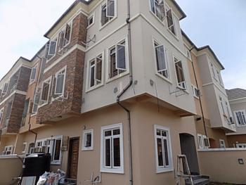 Luxury 4 Bedroom Terraced Duplex, Corner Piece, with  a Very  Large Parking Space, Ologolo, Lekki, Lagos, Terraced Duplex for Sale