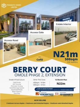 Land, Berry Court Omole Phase 2, Omole Phase 2, Ikeja, Lagos, Residential Land for Sale