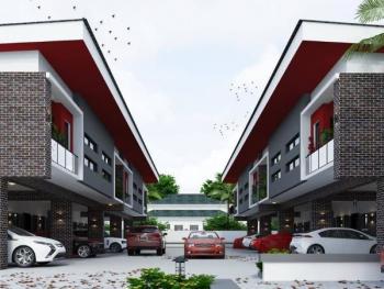 3 Bedroom Terrace Duplex with Bq, Chevron Area, Lekki Phase 2, Lekki, Lagos, Terraced Duplex for Sale