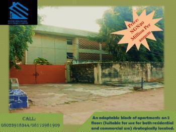 an Adaptable Block of Apartments on 2 Floors, Ola Ayinde Street, Off Mobolaji Bank Anthony Way, Opebi, Ikeja, Lagos, House for Rent