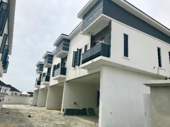 Newly Built Four Bedroom Terrace with Bq for Sale in Ikota, Ikota Villa Estate, Lekki, Lagos, Terraced Duplex for Sale