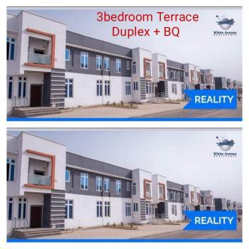 Spacious 3 Bedrooms Terraced Duplex + Bq., Fo1 Beside Military Pension Board, Kubwa, Abuja, Terraced Duplex for Sale
