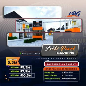 Estate Land with Governors Consent, 3 Minutes From The Express and Less Than 5 Minutes From Shoprite Sangotedo, Lekki Phase 2, Lekki, Lagos, Residential Land for Sale