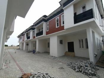 Tastefully Built Four Bedroom Terrace Duplex in Chevron, Chevron Lekki, Chevy View Estate, Lekki, Lagos, Terraced Duplex for Sale