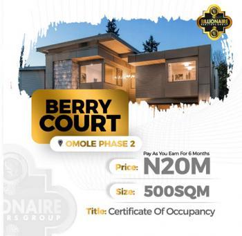 Berry Court Omole, 5mins Drive From Ikeja City Mall, Omole Phase 2, Ikeja, Lagos, Land for Sale