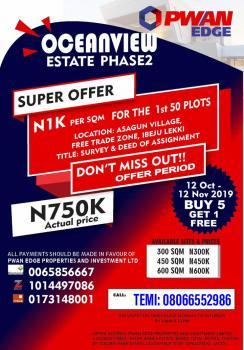 Ocean View Phase 2, Igbogun Community, Folu Ise, Ibeju Lekki, Lagos, Mixed-use Land for Sale