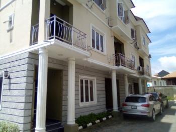 a Massive and Decent Fully Serviced 3 Bedroom Duplex with a Bq, Osapa, Lekki, Lagos, Semi-detached Duplex for Rent