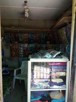 a Spacious Shop Facing The Road, Sangotedo Market, Sangotedo, Ajah, Lagos, Shop for Sale