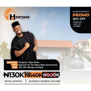 Heritage Homes, Sagamu, Ogun, Residential Land for Sale