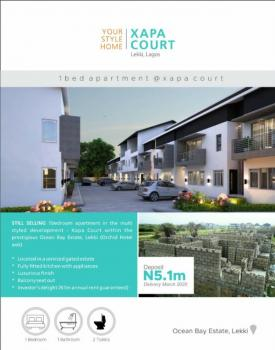 Brand New Luxury 1 Bedroom Serviced Apartment  with Air Conditioning , Fully Fitted Kitchen, Xapa Court Ocean Bay Estate, Lafiaji, Lekki, Lagos, Mini Flat for Sale