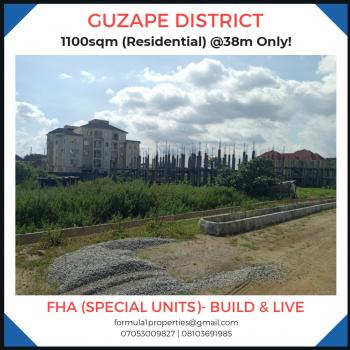 a Very Lovely Land, Guzape District, Abuja, Residential Land for Sale