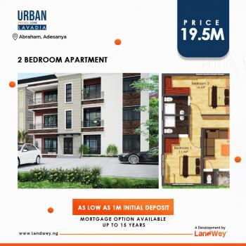Urban Prime One Lavadia 2 Bedroom Apartments, Abraham Adesanya Estate, Ajah, Lagos, Block of Flats for Sale