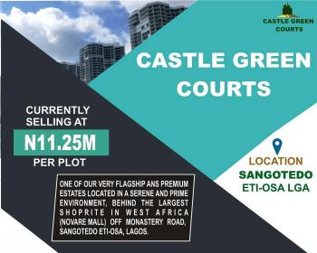 Estate Land, Off Monastery Road Behind Novare Mall (shoprite), Sangotedo, Ajah, Lagos, Residential Land for Sale
