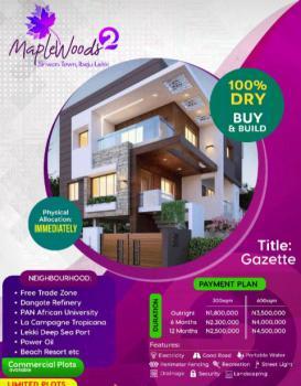 Land, Maplewood 2., Siriwon Town, Ibeju Lekki, Lagos, Residential Land for Sale