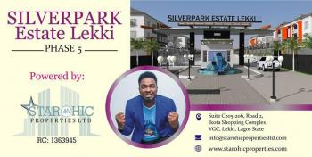 Estate Land, Behind Shoprite and Off Monastery Road, Sangotedo, Ajah, Lagos, Residential Land for Sale