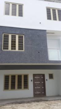 Well Finished 4 Bedroom Terraced Duplex with Bq, Surulere, Lagos, Terraced Duplex for Rent