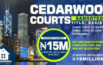 Esate Land, Abraham Adesanya Ten Minutes Away From Lekki Phase Two, Sangotedo, Ajah, Lagos, Residential Land for Sale