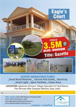 Ragles Court Estate, Iberekodo, Ibeju Lekki, Lagos, Residential Land for Sale