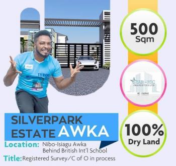 Estate Land, Nibo Isiagu Road Behind British International School, Awka, Anambra, Residential Land for Sale