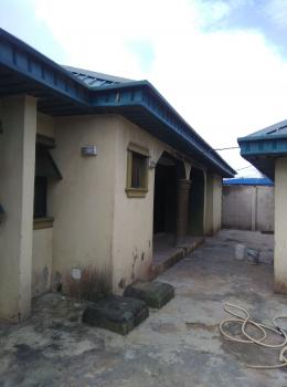 Lovely Built 3 Bedroom Flat Alone in The Compound, Amule Ashipa, Ayobo, Ipaja, Lagos, Detached Bungalow for Rent