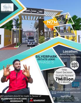 Estate Land, Behiind Shoprite Off Monastery Road, Sangotedo, Ajah, Lagos, Residential Land for Sale