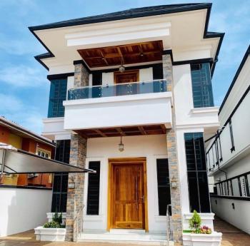 Brand Newly Built Luxurious 5 Bedroom Duplex with 1 Room Bq, Chevy View Estate, Lekki, Lagos, Detached Duplex for Rent