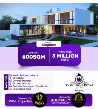 Dominion Royal City 100% Dry Land, Olowofela, Magboro, Ogun, Mixed-use Land for Sale