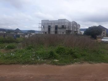 Partly Fenced Corner Piece Low Density Landuse ( Build & Live), Off Peace Apartment Road Near Aduive International School, Jahi, Abuja, Residential Land for Sale