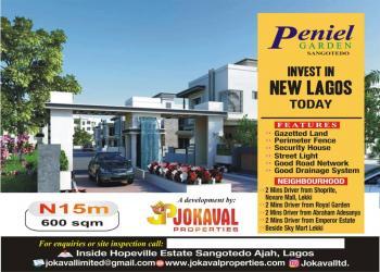 Estate  Land, Abraham Adesanya, Sangotedo, Ajah, Lagos, Residential Land for Sale