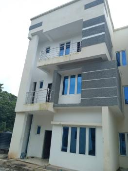 a Nicely Finished Duplex, with Basement Apartment, Guzape District, Abuja, Terraced Duplex for Sale