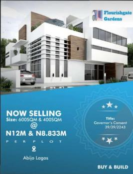 Estate Land Buy Build Develop Area Total Parkage of 12m, Abijo, Sangotedo, Ajah, Lagos, Residential Land for Sale