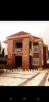 5 Bedroom Detached Duplex with 2 Units of 2 Bedroom Bq Attached, with Swimming Pool, Katampe Extension, Katampe, Abuja, Detached Duplex for Sale