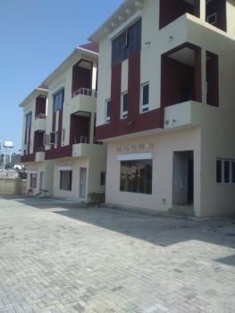 Standard 1 Unit of 5 Bedroom Terrace Duplex with Bq, Guzape District, Abuja, Terraced Duplex for Sale