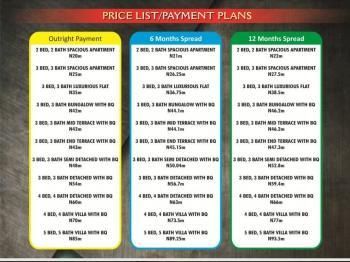 3 Bedroom Luxurious Flat, Along Eleko Beach Road, Eleko, Ibeju Lekki, Lagos, Block of Flats for Sale