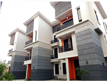 4 Bedroom Terraced Duplex with Bq, Thomas Estate, Ajah, Lagos, Terraced Duplex for Sale