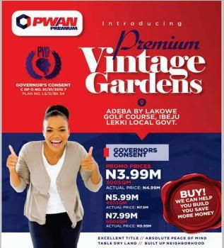 Premium Vintage Gardens, Lakowe, Ibeju Lekki, Lagos, Mixed-use Land for Sale