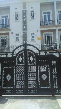 Spacious 4 Units of 3 Bedroom Terraced Duplex with a Room Bq, Kado, Abuja, Terraced Duplex for Rent