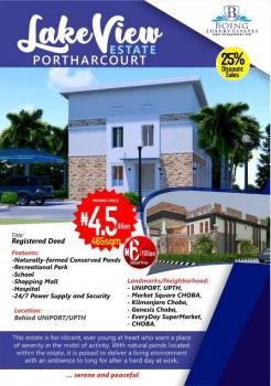Lakeview Estate Now Selling, Choba, Port Harcourt, Rivers, Residential Land for Sale