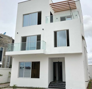 Well Finished 4 Bedrooms with 1 Room Bq Fully Detached Duplex, Pinnock Beach Estate, Osapa, Lekki, Lagos, Detached Duplex for Sale
