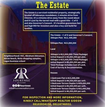 The Estate Abraham Adesanya, Ajah, Lagos, Land for Sale