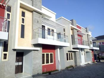 Luxury Three (3) Bedroom Terraced  Duplex with a Room Bq, Ilasan, Lekki, Lagos, Terraced Duplex for Rent