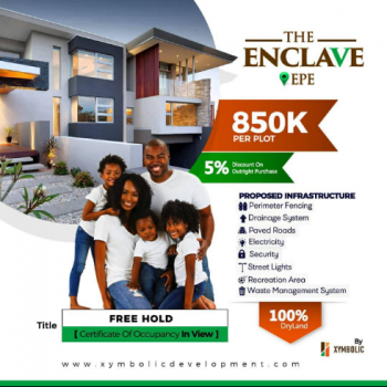 The Enclave, Epe, Epe, Lagos, Residential Land for Sale