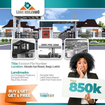 Lekki Boulevard, Akodo Ise, Akodo Ise, Ibeju Lekki, Lagos, Residential Land for Sale