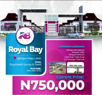 Royal Bay, Ibeju-lekki, Ibeju Lekki, Lagos, Residential Land for Sale