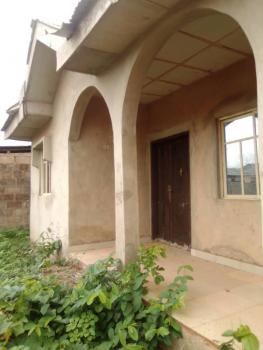 95% Uncompleted 3 Bedroom Flat, Iwoye Road Ojuore Ota, Sango Ota, Ogun, Detached Bungalow for Sale