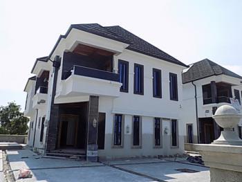 5 Bedroom Semi Detached Duplex with Bq, 24hrs Power, Underground Wiring, Playground for Children, Parking Space in a Gated Estate, Royal Garden Estate, Ajah, Lagos, Semi-detached Duplex for Sale