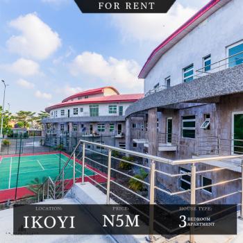 Luxury 3 Bedroom Apartment, Osborne, Ikoyi, Lagos, Flat for Rent