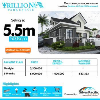 Prime Land, Alatunshe, Lekki Expressway, Lekki, Lagos, Residential Land for Sale