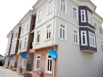 Nicely Built Selves Service 4 Bedroom Terraced Duplex, Idado, Lekki, Lagos, Terraced Duplex for Rent